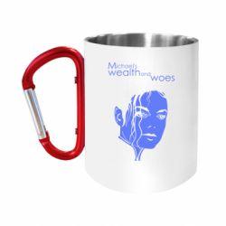 Кружка з ручкою-карабіном michael's wealth and woes