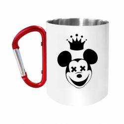 "Кружка с ручкой ""карабин"" Mickey Mouse Swag"