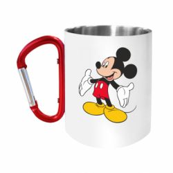 Кружка з ручкою-карабіном Mickey Mouse