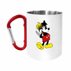Кружка з ручкою-карабіном Mickey XXXTENTACION