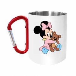 Кружка з ручкою-карабіном Minnie And Bear