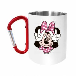 Кружка з ручкою-карабіном Minnie Mouse