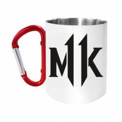 Кружка з ручкою-карабіном Mk 11 logo