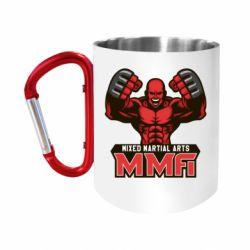 Кружка з ручкою-карабіном MMA Fighter 2