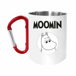 Кружка з ручкою-карабіном Moomin
