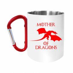 Кружка з ручкою-карабіном Mother Of Dragons