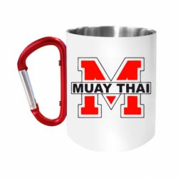 Кружка з ручкою-карабіном Muay Thai Big M