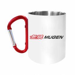 Кружка з ручкою-карабіном Mugen Logo