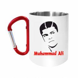 """Кружка с ручкой """"карабин"""" Muhammad Ali"""