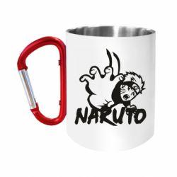 Кружка з ручкою-карабіном Naruto Hatake