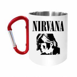Кружка з ручкою-карабіном Nirvana
