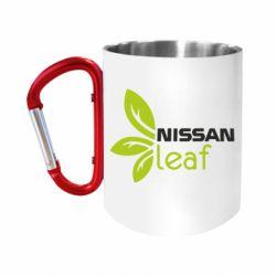 "Кружка с ручкой ""карабин"" Nissa Leaf"