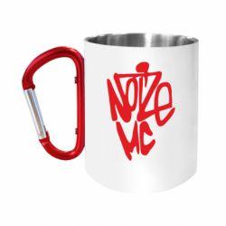 """Кружка с ручкой """"карабин"""" Noize MC"""
