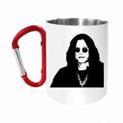 Кружка з ручкою-карабіном Ozzy Osbourne особа