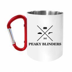 Кружка з ручкою-карабіном Peaky Blinders I