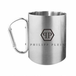 Кружка з ручкою-карабіном Philipp Plein