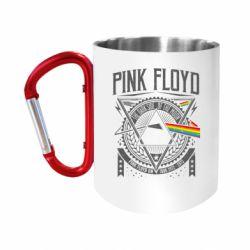 Кружка з ручкою-карабіном Pink Floyd