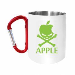 "Кружка с ручкой ""карабин"" Pirate Apple"