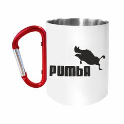 Кружка з ручкою-карабіном Pumba