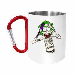 Кружка з ручкою-карабіном Рік і Морті образ Джокера