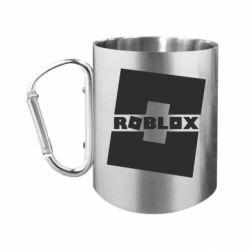 Кружка з ручкою-карабіном Roblox game