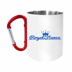 Кружка з ручкою-карабіном Royal Stance