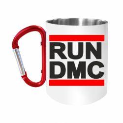 Кружка з ручкою-карабіном RUN DMC