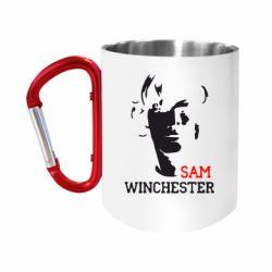 Кружка з ручкою-карабіном Sam Winchester