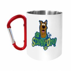 """Кружка с ручкой """"карабин"""" Scooby Doo!"""
