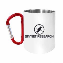 """Кружка с ручкой """"карабин"""" Skynet Research"""