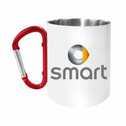 Кружка з ручкою-карабіном Smart 2