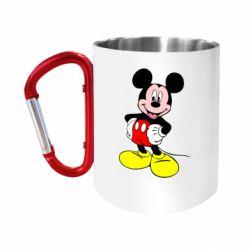 Кружка з ручкою-карабіном Сool Mickey Mouse