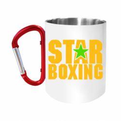 "Кружка с ручкой ""карабин"" Star Boxing"