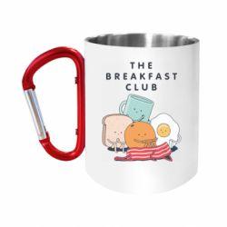 Кружка з ручкою-карабіном The breakfast club