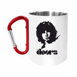 """Кружка с ручкой """"карабин"""" The Doors"""