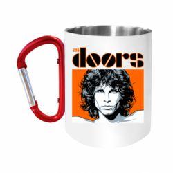 Кружка з ручкою-карабіном The Doors