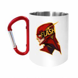 Кружка з ручкою-карабіном The Flash