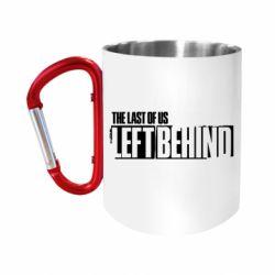 Кружка з ручкою-карабіном The Last of us Left Behind
