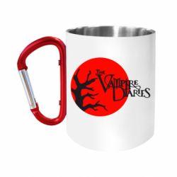 """Кружка с ручкой """"карабин"""" The Vampire Diaries"""