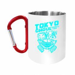 Кружка з ручкою-карабіном Токійський гуль
