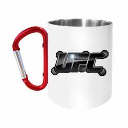 """Кружка с ручкой """"карабин"""" UFC Art"""