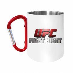 Кружка з ручкою-карабіном UFC Fight Night