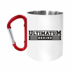 """Кружка с ручкой """"карабин"""" Ultimatum Boxing"""