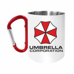 """Кружка с ручкой """"карабин"""" Umbrella"""