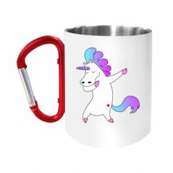 "Кружка с ручкой ""карабин"" Unicorn swag"
