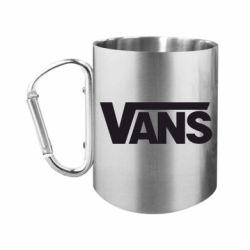 Кружка з ручкою-карабіном Vans