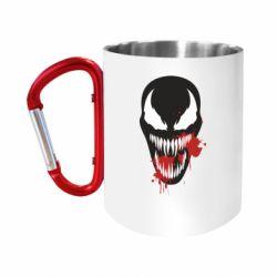 Кружка з ручкою-карабіном Venom blood
