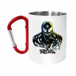 """Кружка с ручкой """"карабин"""" Venom Bust Art"""