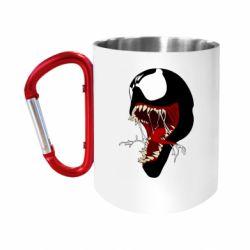 Кружка з ручкою-карабіном Venom jaw