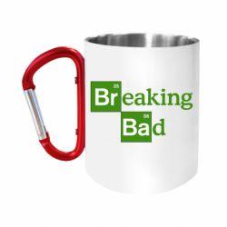 """Кружка с ручкой """"карабин"""" Во все тяжкие (Breaking Bad)"""